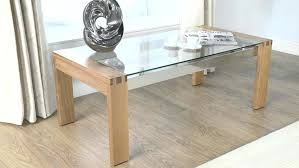 Wood And Glass Coffee Table Designs Wood And Glass Coffee Table Bikepool Co