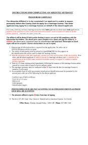 Colorado Dmv Power Of Attorney by Free Texas Affidavit Of Absent Applicant Wikiform Wikiform
