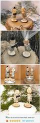 real stick people wedding cake topper bride and groom rustic