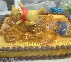 cake wrecks winnie pooh poos
