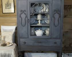 chalk paint cabinets distressed distressed furniture etsy