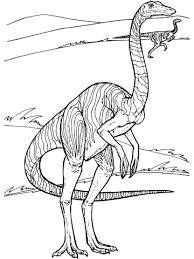 gallimimus dinosaur coloring free printable coloring pages