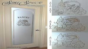 Kitchen Door Design Door Design Designer Glass Doors Images About Etched Panel Ideas