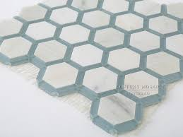 black and white marble mosaic hexagon floor tile buy hexagon
