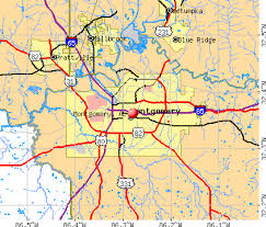 montgomery mall map montgomery alabama al profile population maps estate
