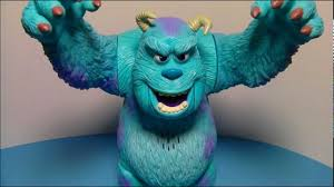 disney pixar sulley walking talking action figure monster