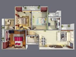 trend three bedroom house plan and design 24 on home painting