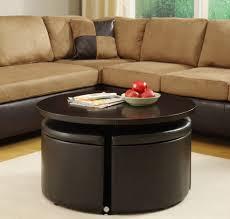 best coffee table with ottomans underneath u2014 bitdigest design