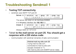 Netstat Flags Configuring Linux Mail Servers Ppt Download