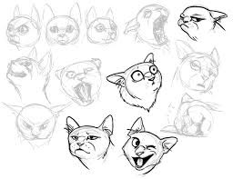 sketch of a cat 28 images the glee drawing paintbrush cats by