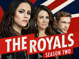 amazon com the royals season 2 elizabeth hurley vincent regan