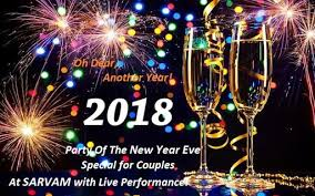 for new year party of the new year special for couples at sarvam with live