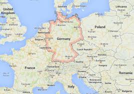 germany europe map map of germany europe major tourist attractions maps