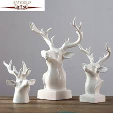 online get cheap ceramic deer head aliexpress com alibaba group