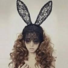 lace masquerade masks for women party lace mask mask women rabbit ears venetian metal filigree