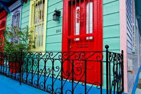 new orleans colorful houses can t decide on the color to paint your house so use them all