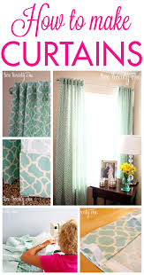Diy Cheap Curtains How To Make Curtains Diy Two Twenty One