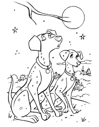 101 dalmation coloring pages coloring