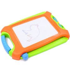 children kids magnetic drawing board colorful writing sketching