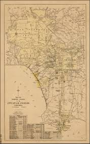 Map Of Los Angeles California by Map Of Territory Annexed To The City Of Los Angeles California