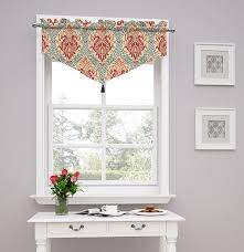 Valances For Kitchen Amazon Com Traditions By Waverly 14976052021pop Dressed Up Damask
