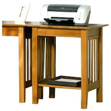 computer and printer table printer table with storage stand wood low profile moneyfit co