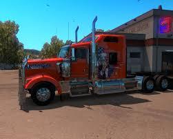 kenworth show trucks kenworth w900 american truck skin american truck simulator mods