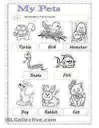 7 best pets esl images on pinterest worksheets english lessons