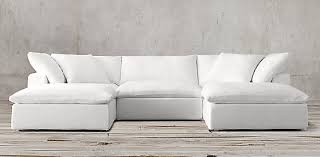 Down Sectional Sofa Petite Cloud Modular Sectionals Rh