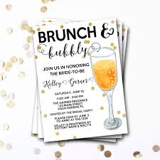 mimosa brunch invitations brunch and bubbly bridal shower invitation brunch and bubbly