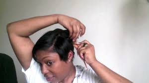 short hairstyles for women showing front and back views short hair cutting tutorial how i cut my short black hair