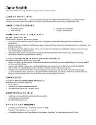 Work Experience In Resume Sample by Advanced Resume Templates Resume Genius