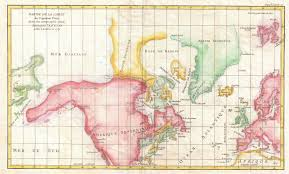Greenland Map 1772 Map Of North America And Greenland With Adjacent Parts Of