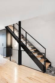 stair modern design architecture steel stringers