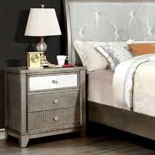 reclaimed wood nightstand wayfair