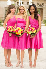 popular rose red bridesmaid dress buy cheap rose red bridesmaid