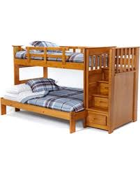Staircase Bunk Beds Twin Over Full by Red Summer Savings On Woodcrest Woody Creek Front Load Twin