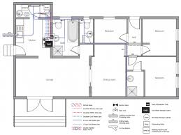 drawing house plans floor plan plumbing and piping plans solution conceptdraw com
