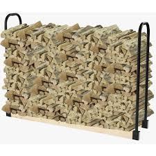 pleasant hearth adjustable firewood rack bracket kit ls932b the