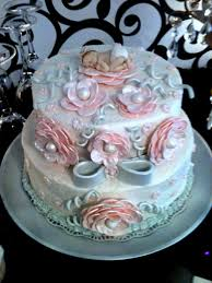 pink and grey baby shower pink and grey baby shower cake cakecentral