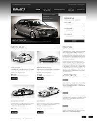volvo website website template 44198 exclusive car rental custom website