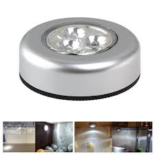 battery powered under cabinet lights 3led battery powered round night light easy to use wall lights for