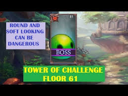 Of Challenge King S Raid Tower Of Challenge Floor 61 Toc 61