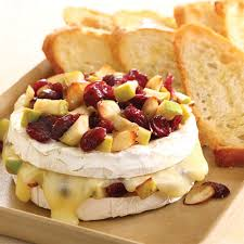 baked brie with apples cranberries recipes pered chef us site