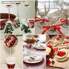 festas ecológicas mesa posta para a ceia de natal decoração