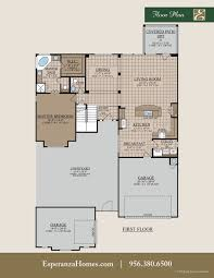 valero home plan by bentsen palm by esperanza home in tanglewood