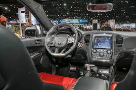 srt jeep inside 2018 dodge durango srt first look automobile magazine