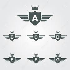 b letter line logo shield ecommerce templates magento templates
