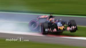 formula 4 crash daniil kvyat scuderia toro rosso after a big crash austrian gp