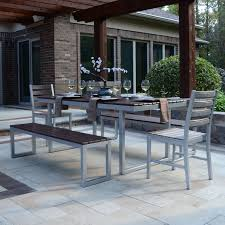 6 Seat Patio Dining Set Coral Coast Bellagio Cushioned Aluminum Patio Dining Set Seats 6